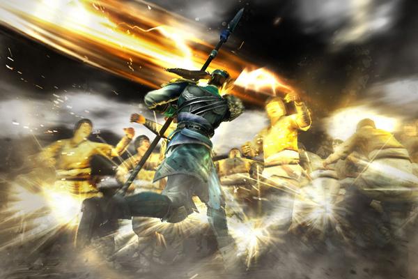 เกมส์ขายดี Dynasty-Warriors-8