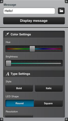 LEDit — The LED banner app