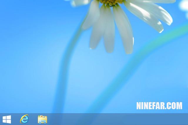 ปุ่ม start window 8.1