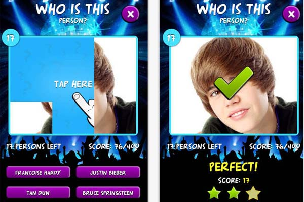 Best Singers Quiz เกมส์ แจกฟรี