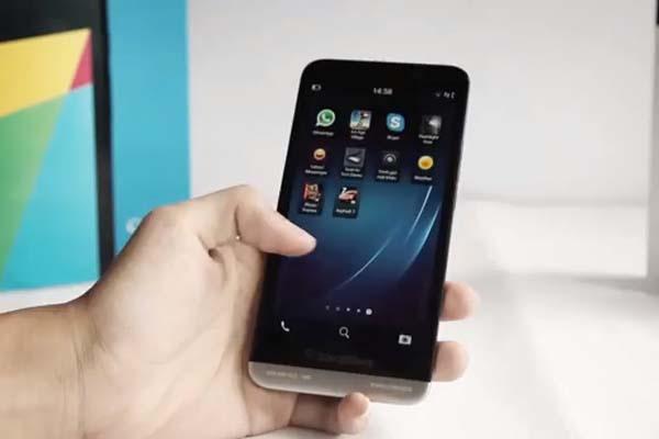 คลิป BlackBerry Aristo Z30 หรือ A10