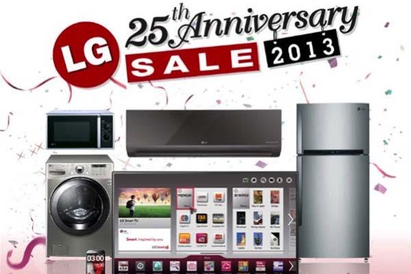 LG 25th Anniversary Sale 2013