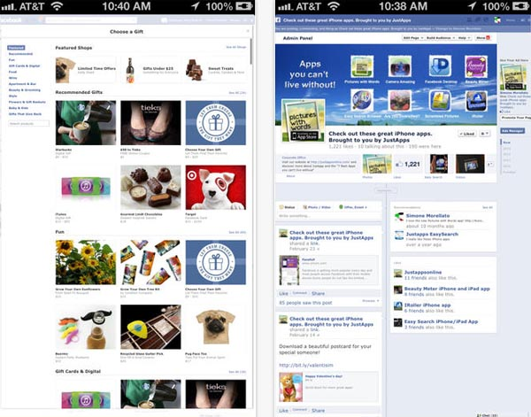 iphone แอพ Facefull-for-facebook-full-site-desktop-version