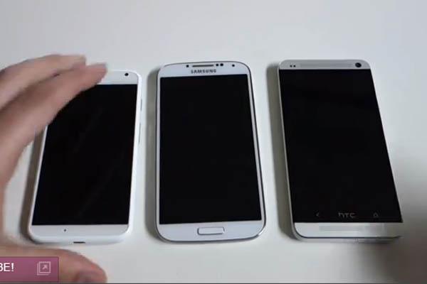 เปรียบเทียบ Moto X vs. Galaxy S4. vs. HTC One