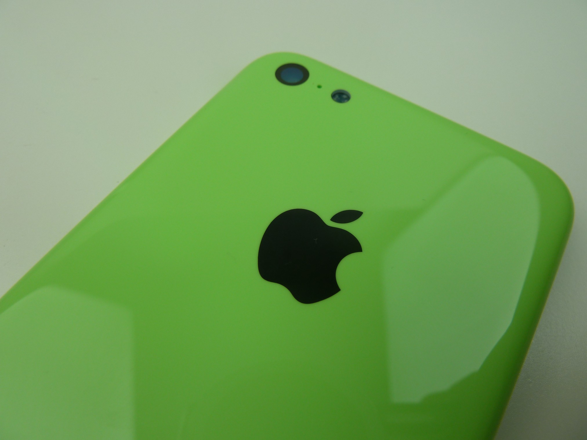 iPhone 5c สีเขียวอ่อน