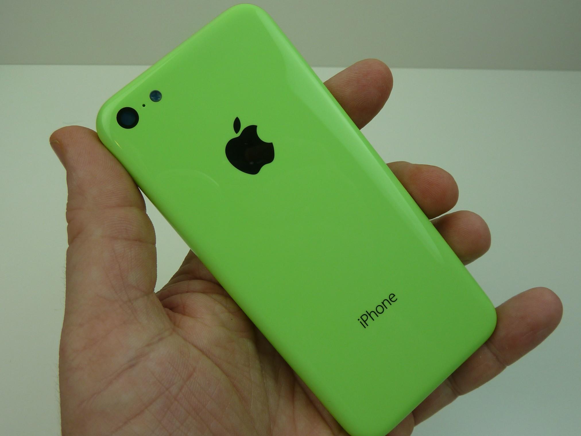 iPhone 5c สีเขียว