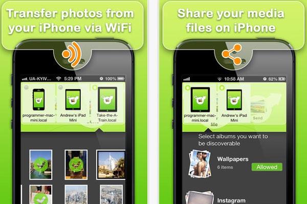 เกม ฟรี Photo-Transfer WiFi