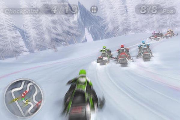 แอพ ฟรี Snow-Moto-Racing