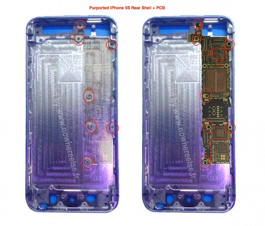 ภาพหลุด iPhone-5S-PCB-908x775