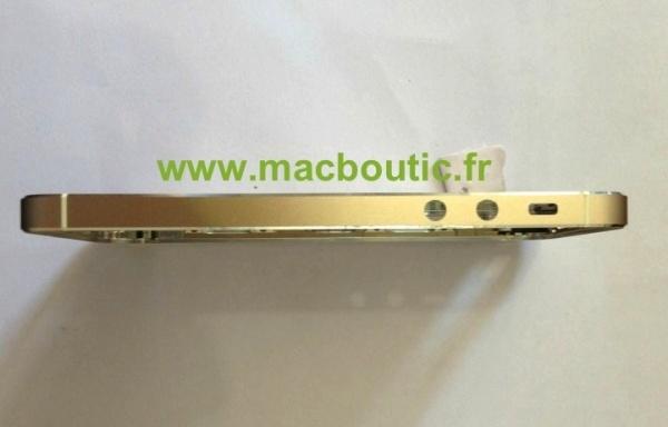 iphone 5s สีทอง  ปุ่ม