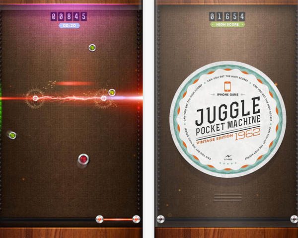 Juggle-Pocket-Machine