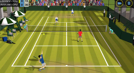 Flick-Tennis