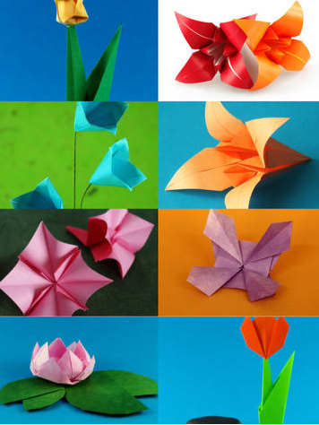 Origami-Flowers-HD
