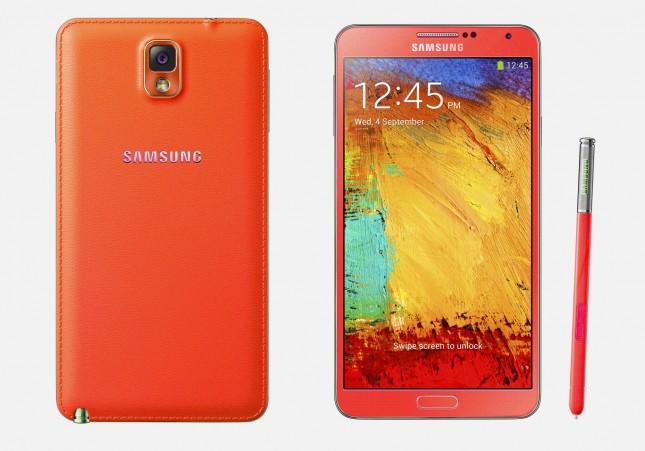 Samsung-Galaxy-Note-3-สีแดง-สีทอง