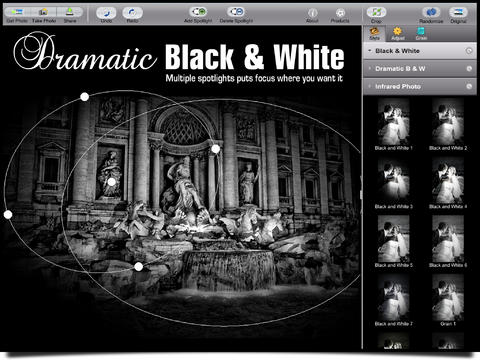 Dramatic Black & White HD