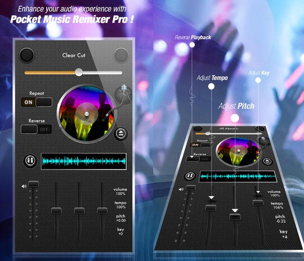 Pocket DJ Music Remixer