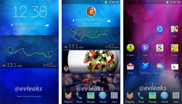new-Samsung s5 TouchWiz-UI