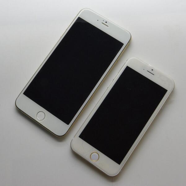 Apple-iPhone-6-leaks-4.7-vs-5.5-model-mockups-compared