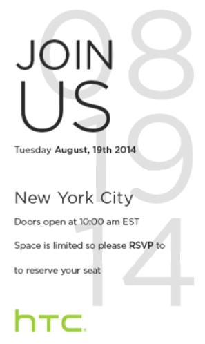 HTC-to-hold-event-on-August-19th