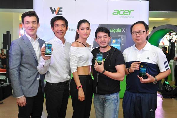Acer Liquid X1, Acer Liquid Jade และ Acer Leap
