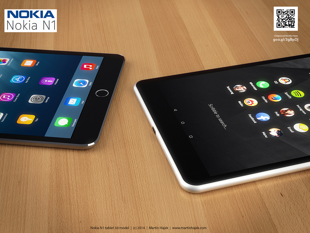 nokia n1 vs ipad mini3