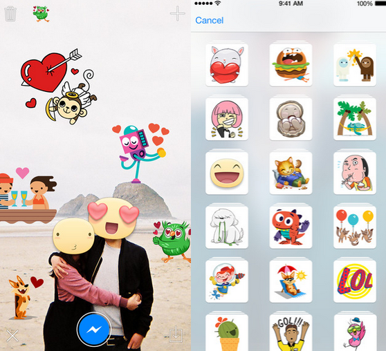 Put-emoji-on-your-pictures-using-Stickered-for-Messenger (1)