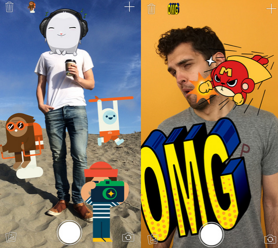 Put-emoji-on-your-pictures-using-Stickered-for-Messenger