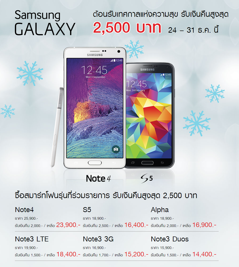 Samsung Galaxy New Promotion