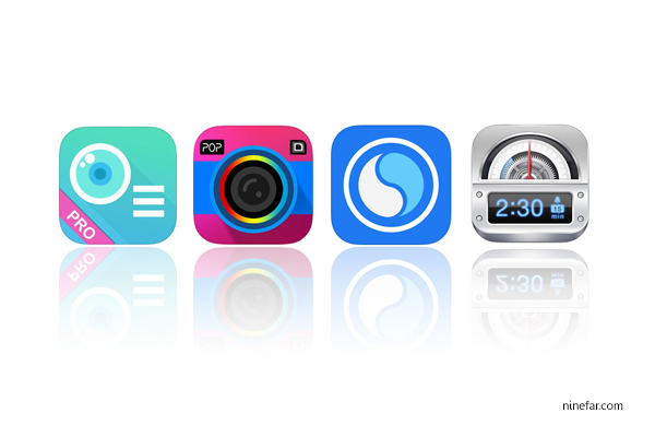 app กล้อง iphone