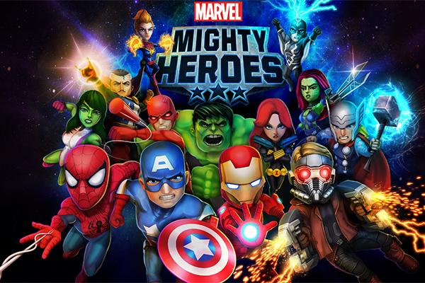 Marvel Mighty Heroes เกมมือถือใหม่
