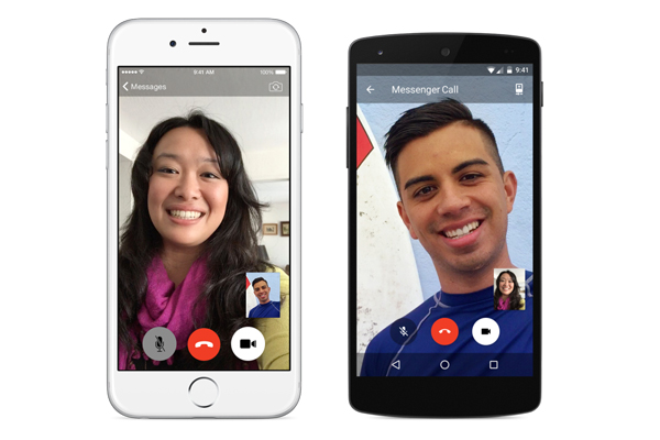 facebook_message-Video Calling