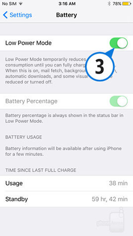 Enable-Low-Power-Mode