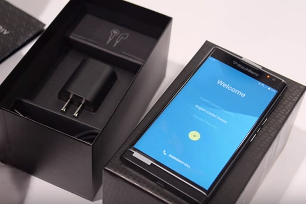BlackBerry Priv unboxing