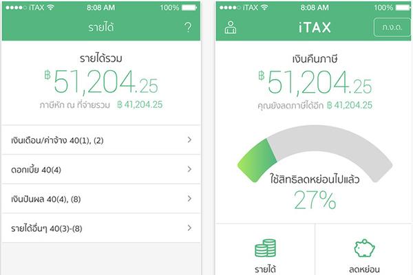 itaxpro_โปรแกรมคำนวณภาษี