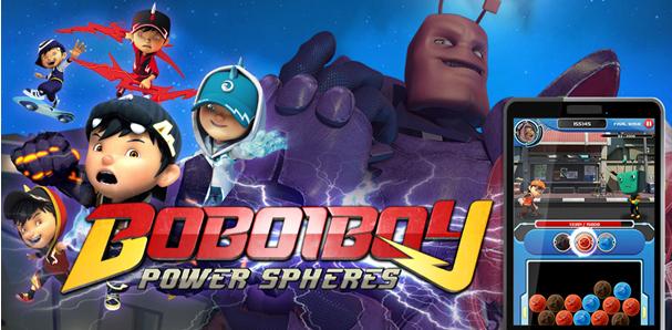 BoBoiBoy Power Spheres