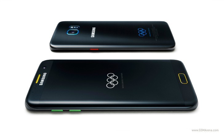 Galaxy S7 edge Olympic Games Limited Edition is official