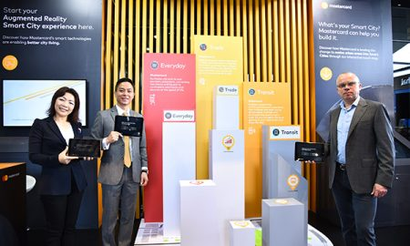 Mastercard Smart City Booth
