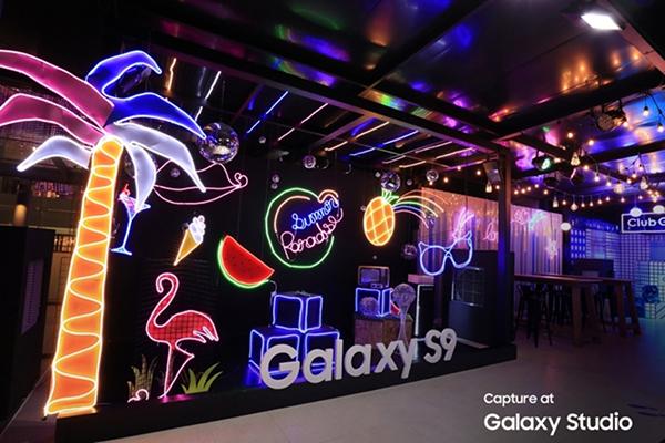 Galaxy Studio Neon Splash Paradise Theme_1
