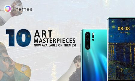 Huawei enhances HUAWEI P30 Series user experience with new famous artwork