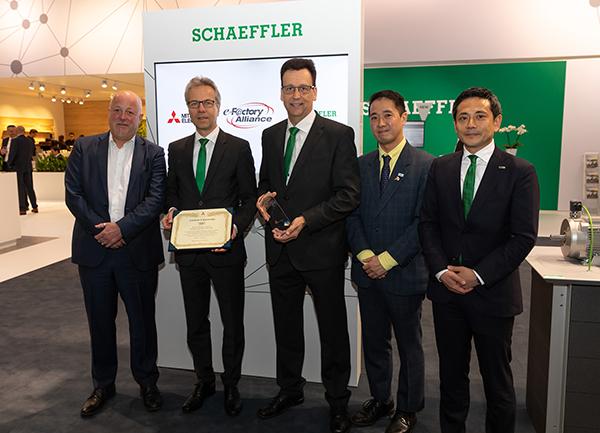Schaeffler & Mitsubishi