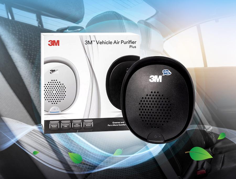 3M Vehicle Air Purifier เครื่องกรองอากาศในรถยนต์-1 copy