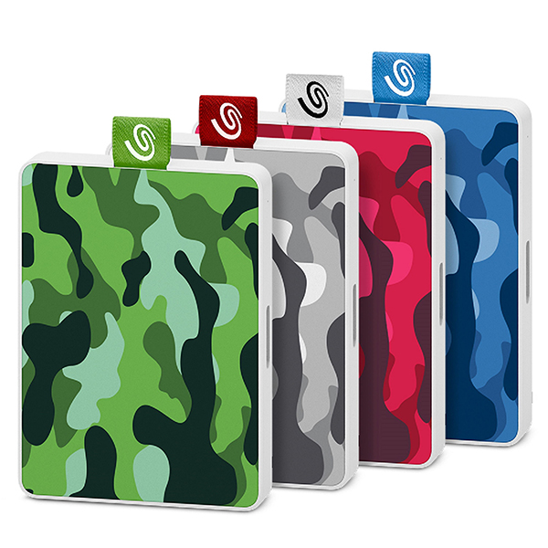 One Touch SSD Special Edition Camo Family_