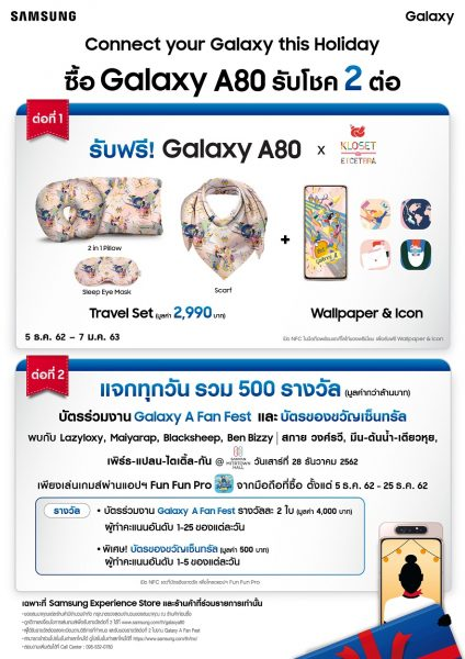 Promotion GALAXY-A80