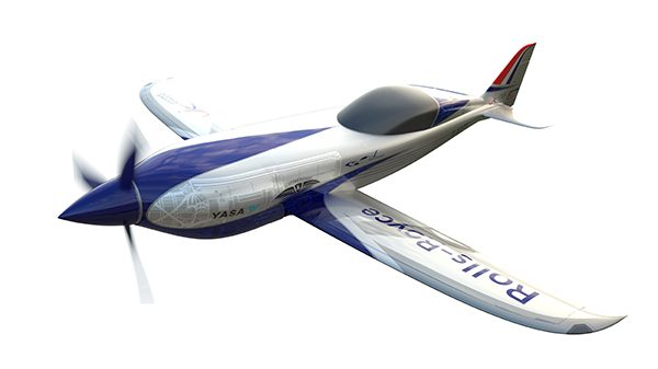 Rolls-Royce unveils all-electric plane