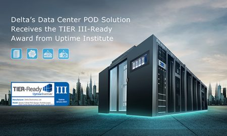 PHOTO - DELTA POD SOLUTION RECEIVES UPTIME TIER III READY CERTIFICATION-2