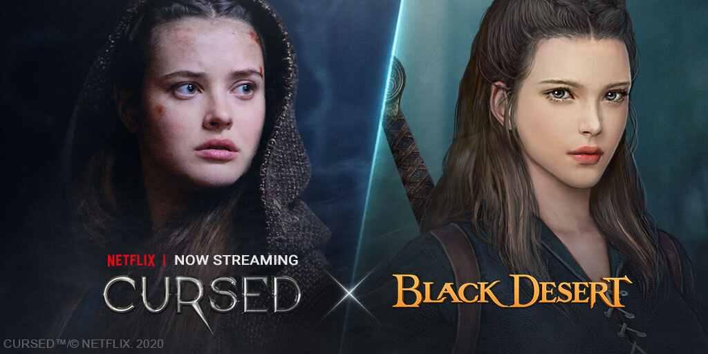 [Pearl Abyss] Black Desert  Cursed  Netflix