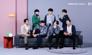 Galaxy S20 FE x BTS Main KV