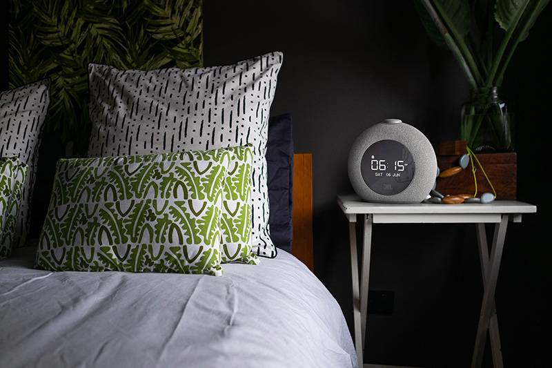 Cosy Dark Styled Bedroom Interior