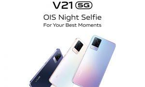 Vivo V21 5G - OIS Night Selfie