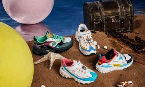 2.Skechers x One Piece Collection